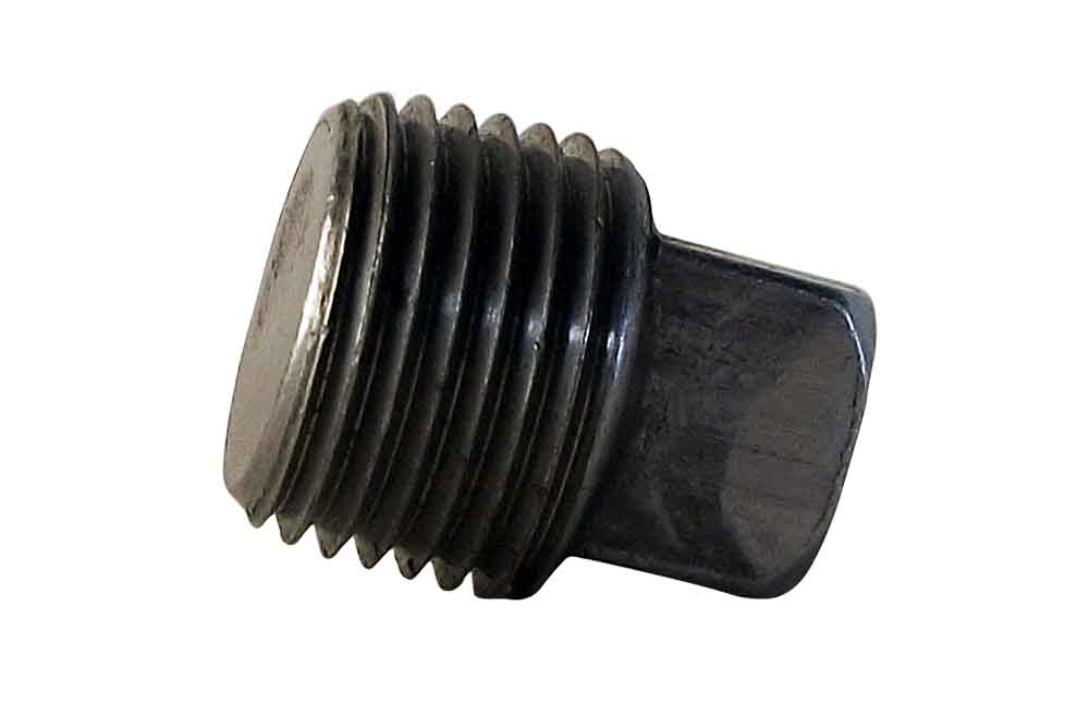 Plug  1/2 Sq Head Blk