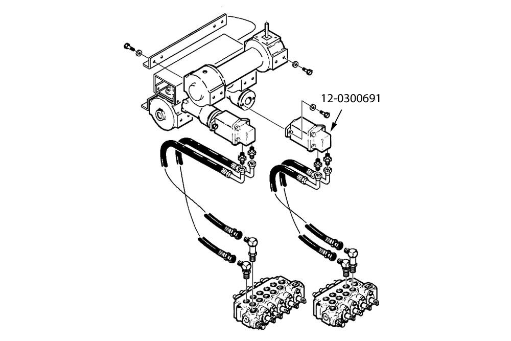 Char-Lynn Century / Challenger Winch Motor