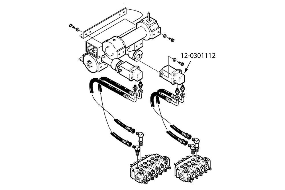 Ramsey H-800 Winch Hydraulic Winch Motor