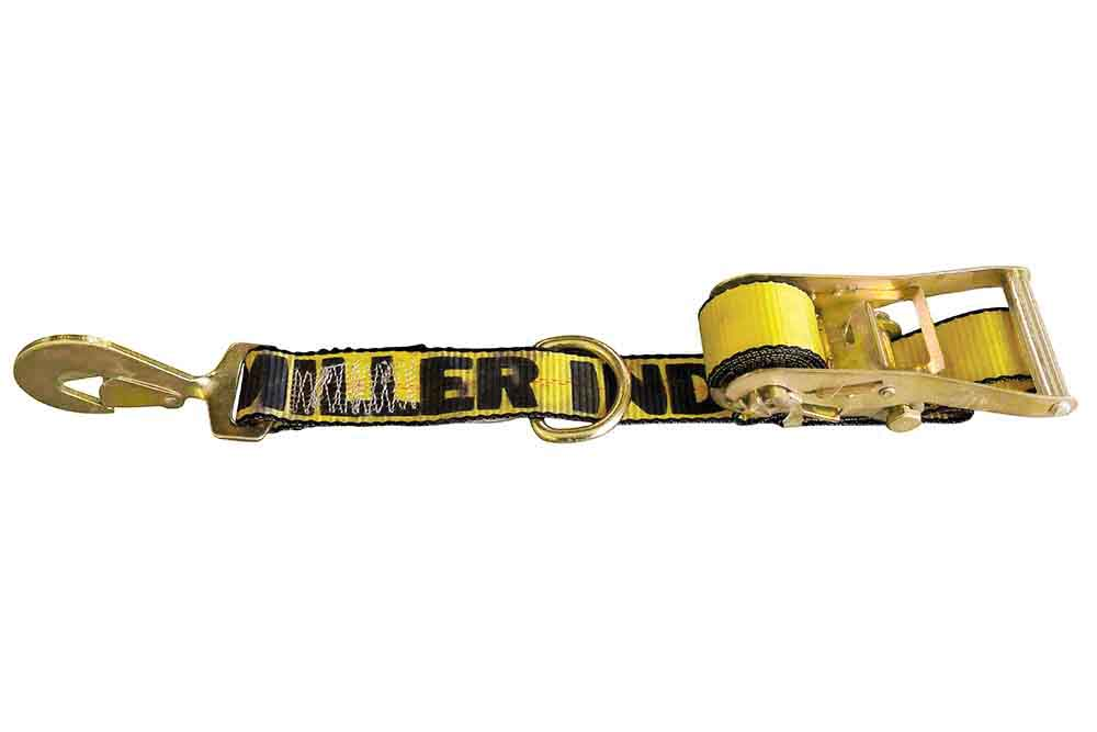 Miller Ratchet Tie Down Strap Delta Ring & Flat Hook Century 20 Series
