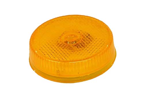 "2.5"" Round Marker Light, Amber"