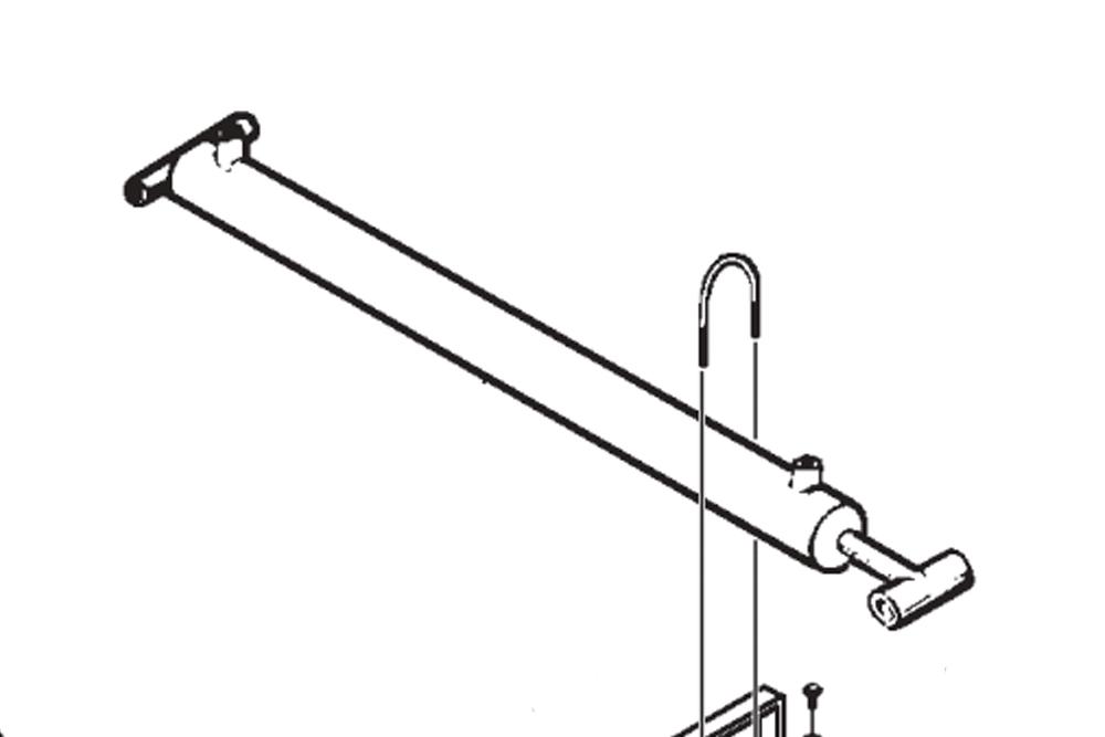 Miller Boom Lift Hydraulic Cylinder