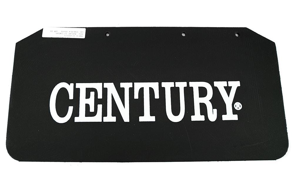 """Miller 12"""" Mud Flap w/ Century Logo"""