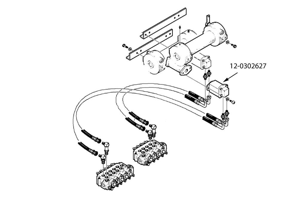 Ramsey H-600 Winch Hydraulic Motor