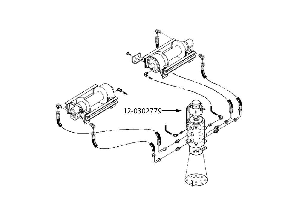 Char-Lynn 11.9 CI Hydraulic Motor