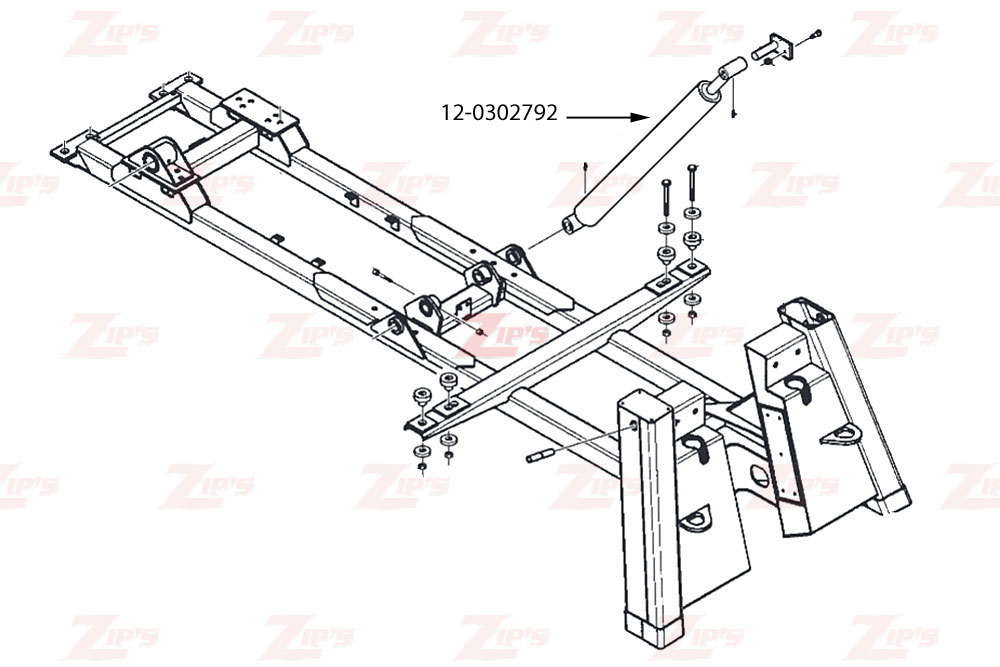 1040b boom assembly rh zips com Channel 6 D S Ph11 RR Amp Wiring Diagram for A Wiring Diagrams for Heater Fan