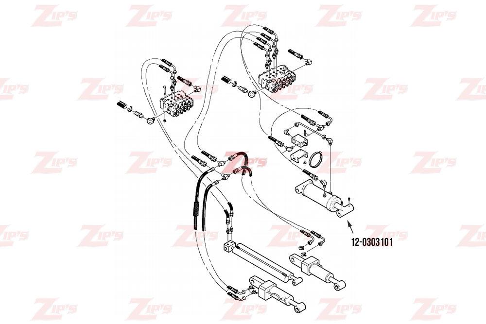 Miller Wheel Lift Cylinder Century 712 & 716