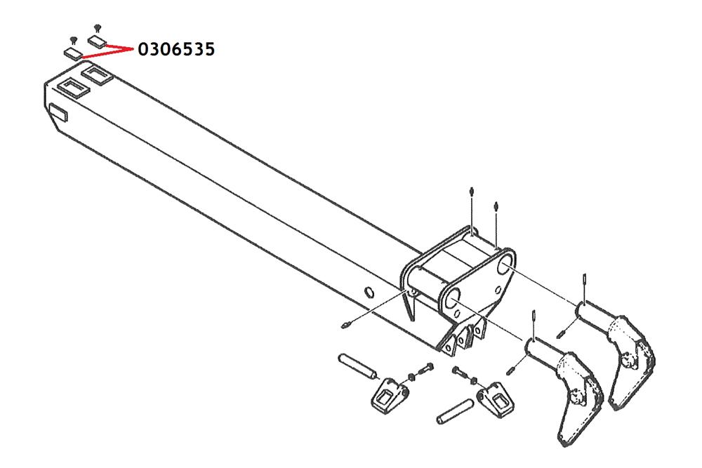 Wear Pad HD Wrecker Challenger 9909 & 8808
