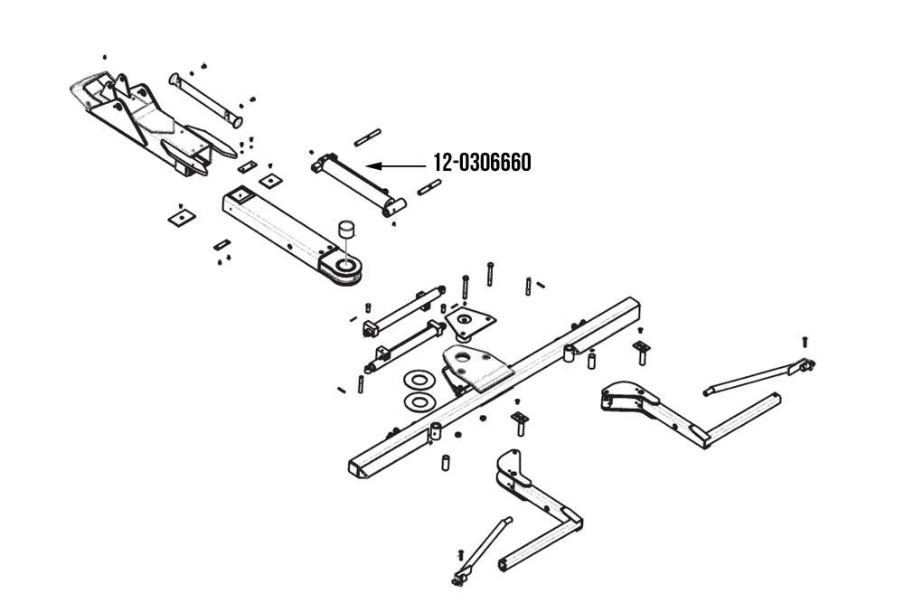 Wheel Lift Parts : Boom assembly