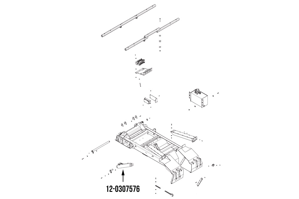 "Miller Boom Lift Cylinder 3.5"" x 17.75"" Century & Vulcan"