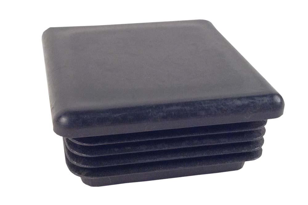 Miller Plug, LDPE Black Square-17-1014