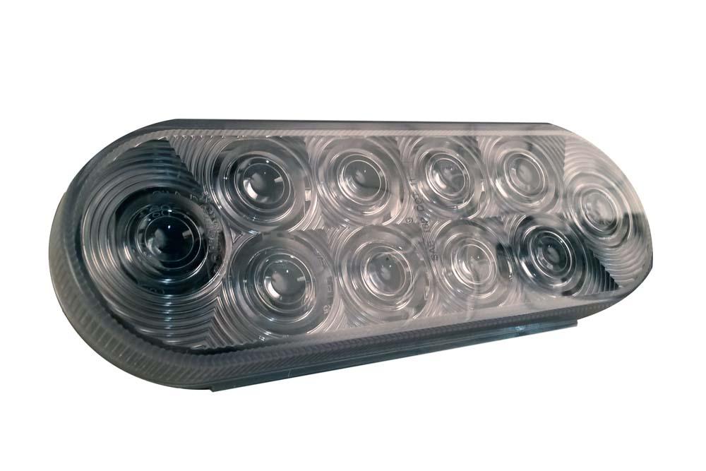 "Oval LED 6"""