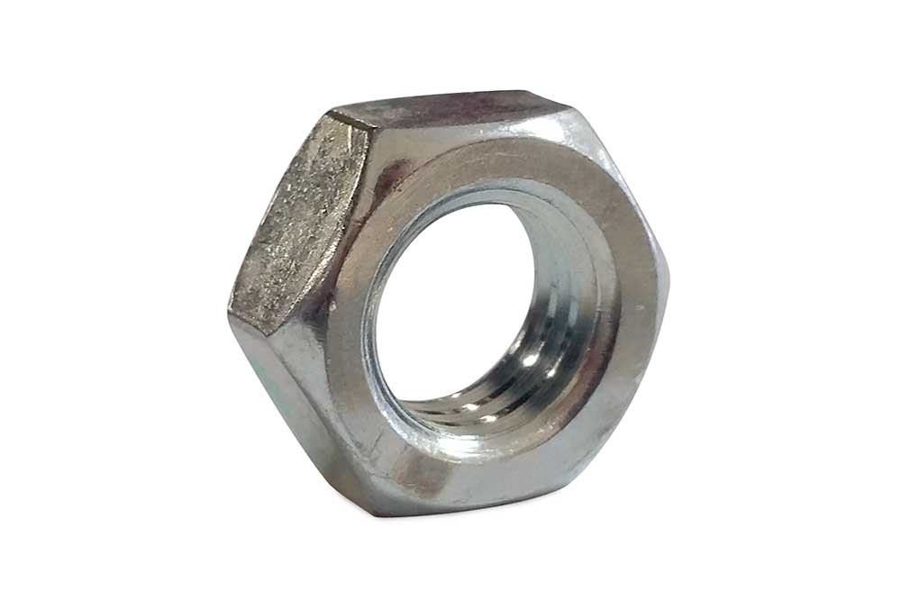 1/2 13 Hex Jam Nut Zp