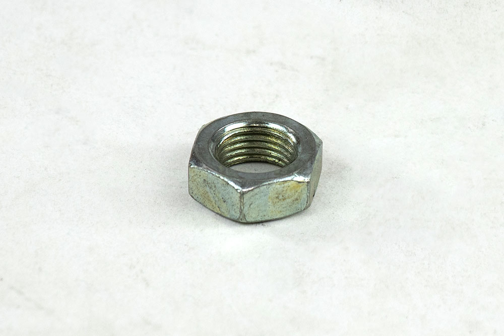 1/2-20 Hex Jam Nut Zp