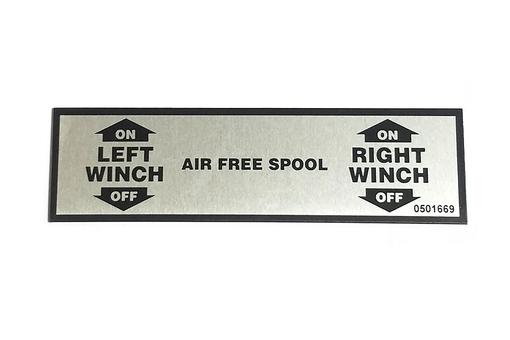 Miller Decal for Air Free Spool