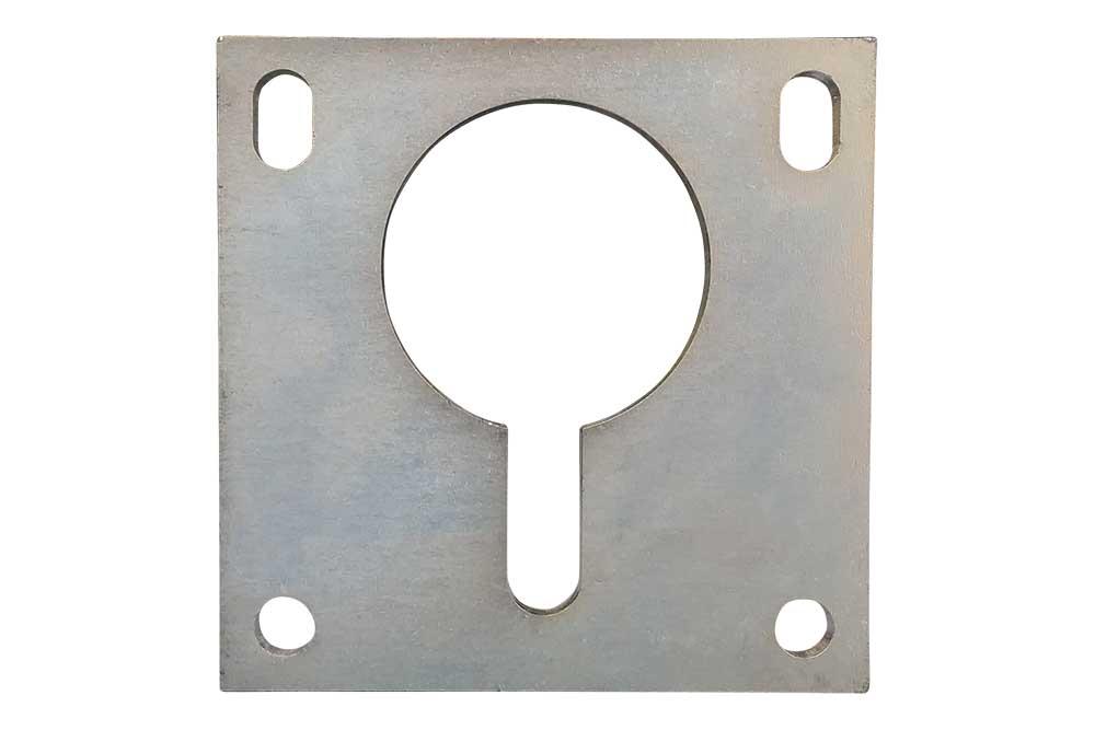 Miller Keyhole Plate w/ Bolt Holes