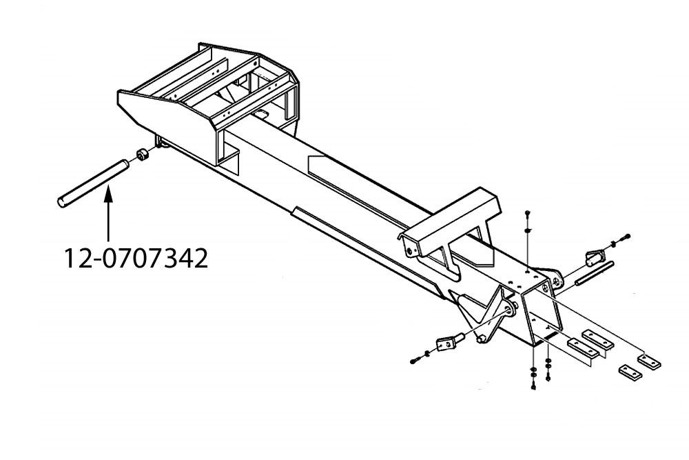 Miller Boom Pivot Pin, Century / Challenger