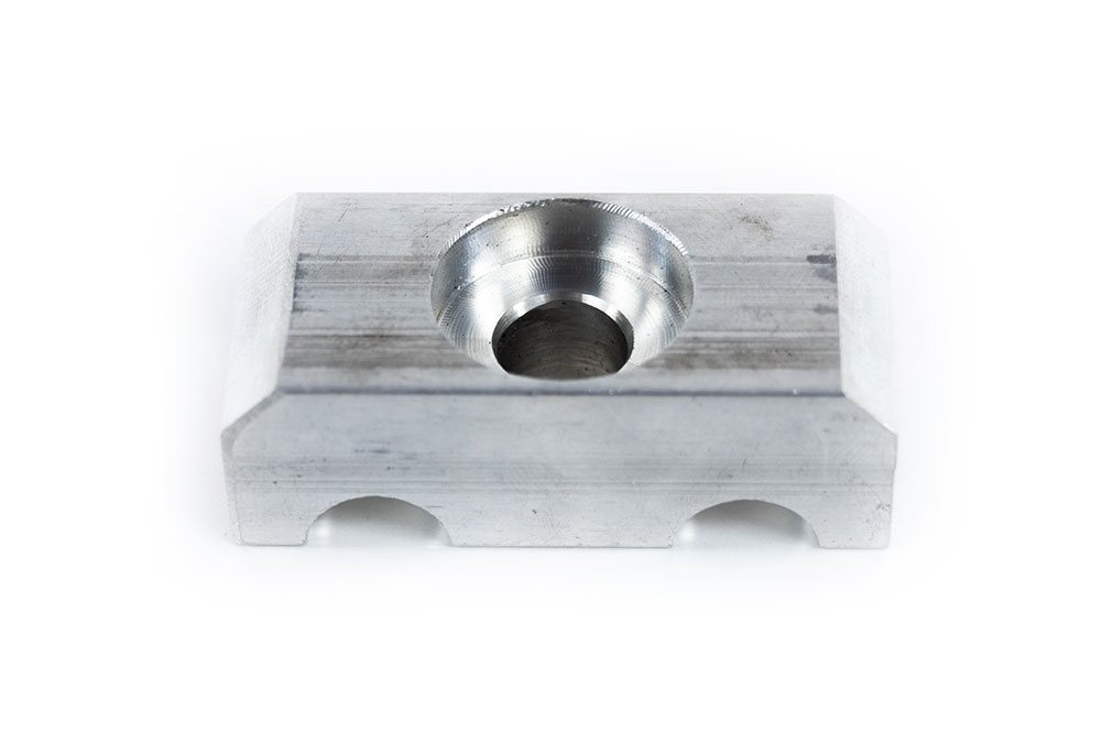 WINCH TUBE CLAMP BLOCK - LOWER