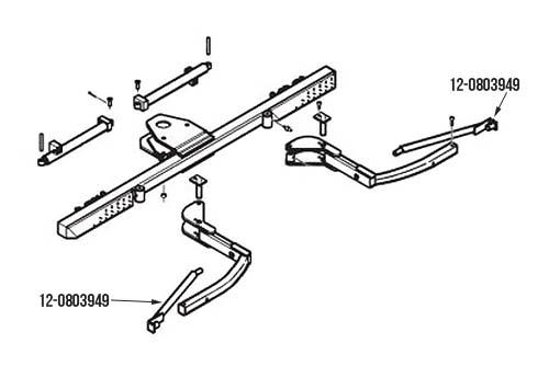 Miller Century / Vulcan Autoloader L-Arm Tire Adapter