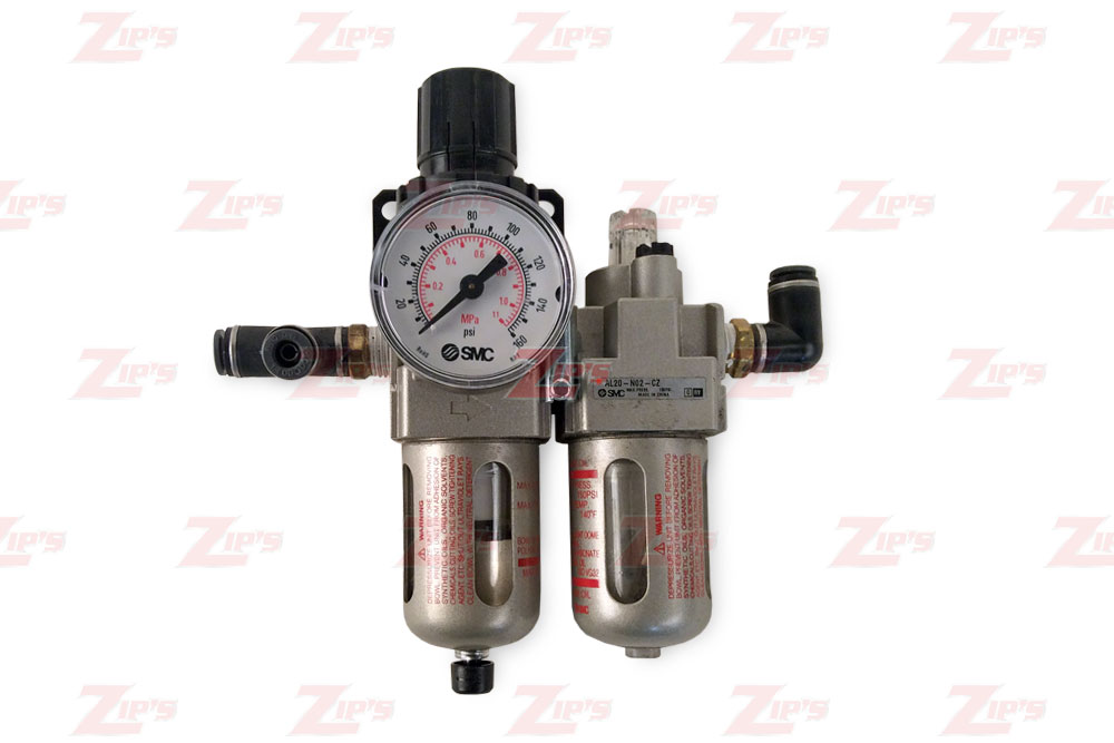Miller Air & Oil Filter with Regulator