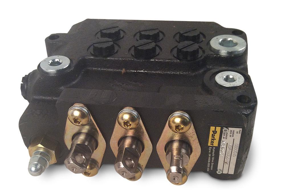 Miller Parker 3 Spool Wheel Lift Control Valve