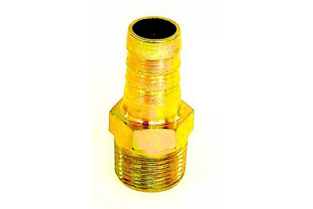 "Miller Hose Barb Fitting 1"" x 1"""