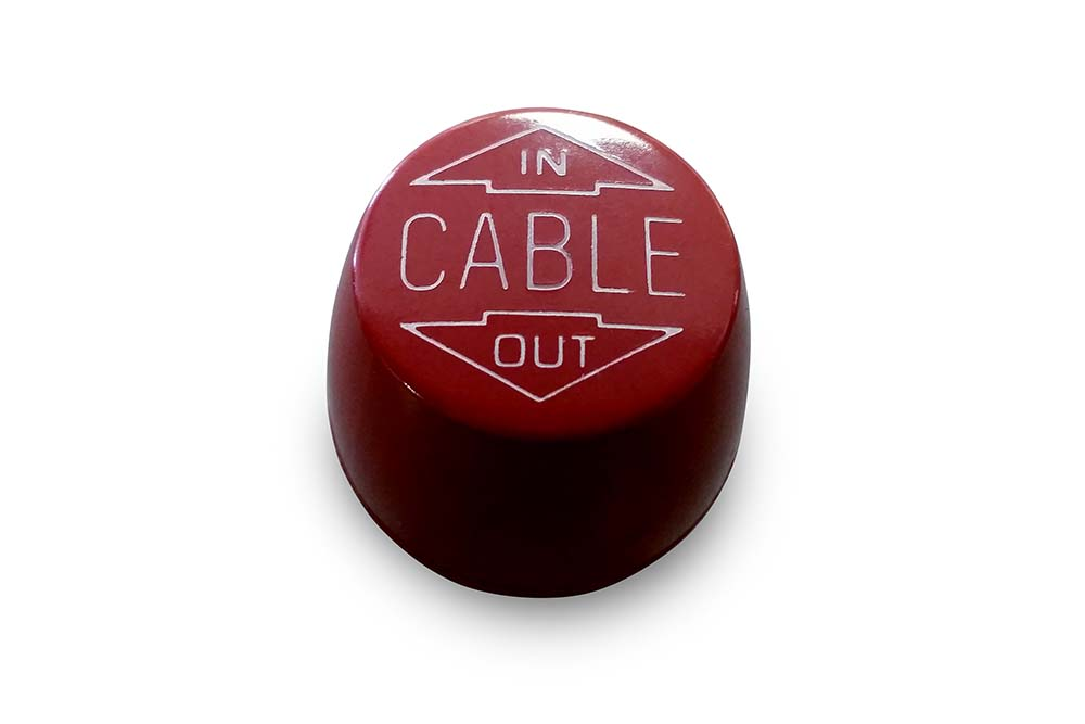 Miller Control Knob Red Cable In / Out