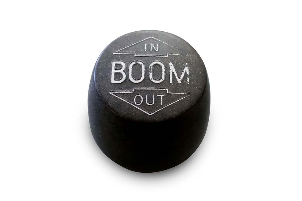 Miller Control Knob Black Boom In / Out