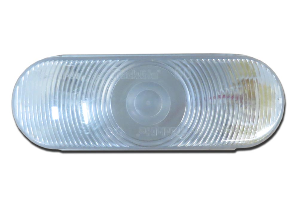 "Miller Back Up Light 6"" Oblong Clear Carriers '05 - Current"