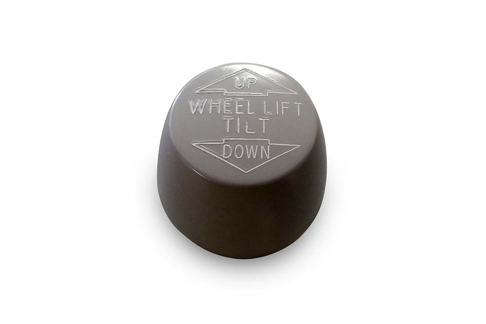 Miller Control Knob Grey Wheel Lift Tilt Up / Down