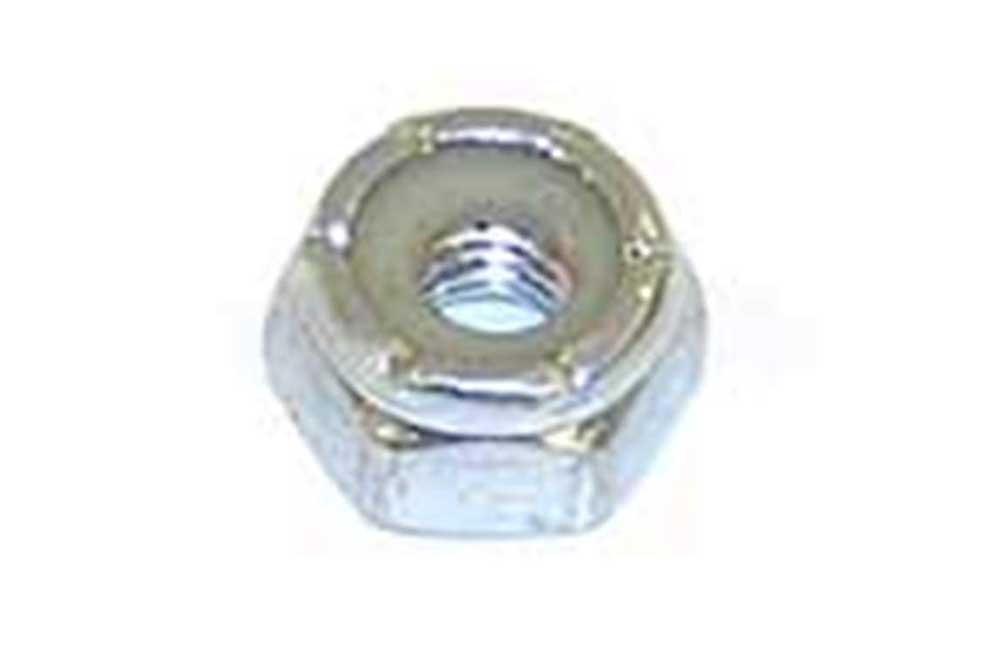 10-32 Nylok Hex Nut Zp