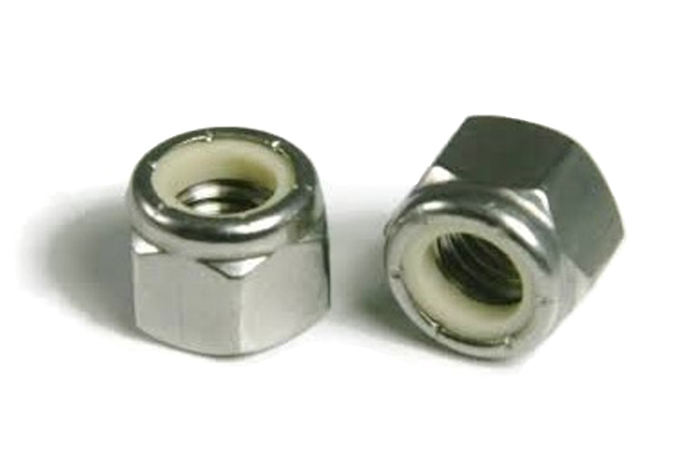 "Miller Nylon Lock Nut 1/4"" 20"