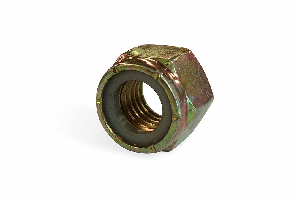 5/8-11 Nylok Hex Nut Zp
