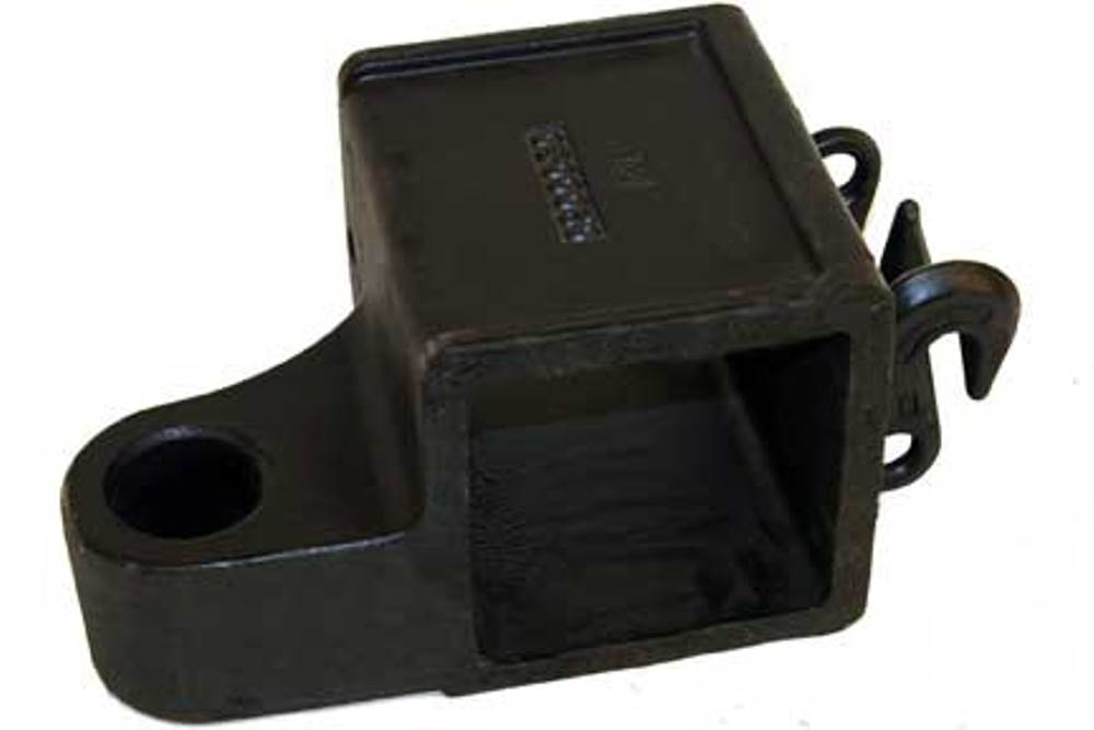"Miller 5"" x 5"" Crossbar Fork Adapter Offset RH Fork Holder"