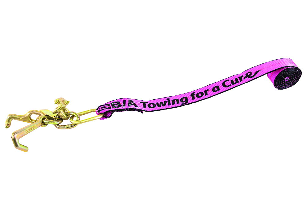 B/A Towing for a Cure Replacement Strap with Mini J, R, & T Hooks