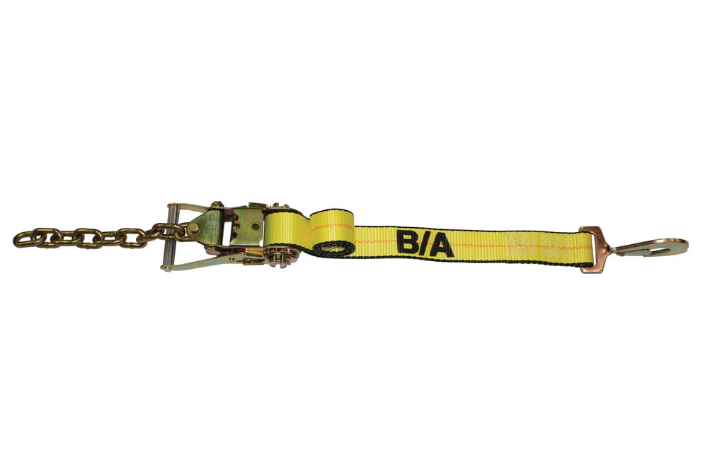 B/A Tie-Down Assembly with Twisted Snap Hook and Wide