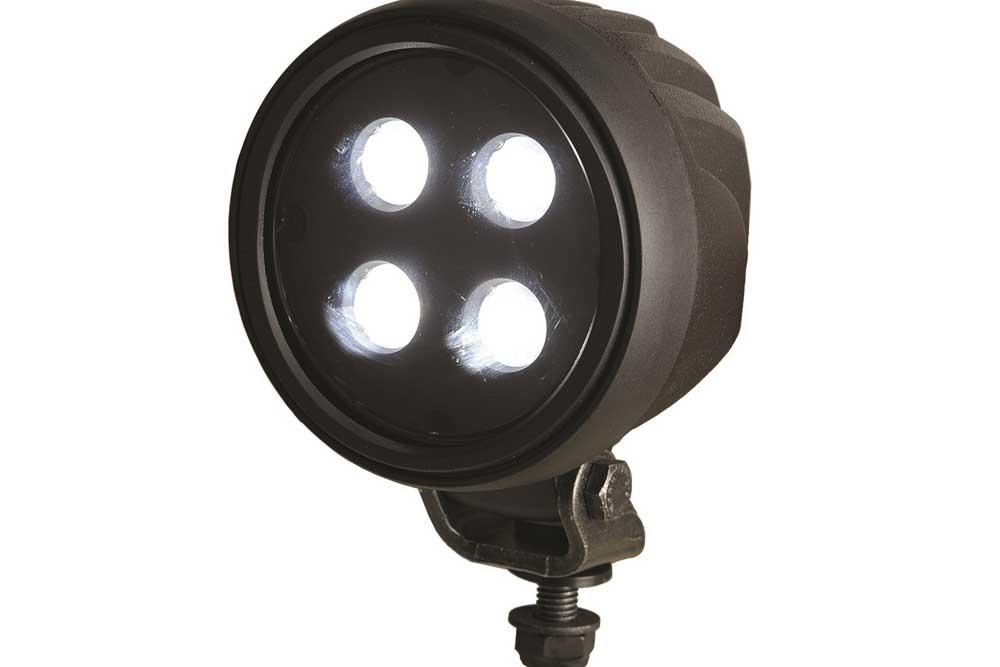 Abl Lights 700 Led 850 Long Range Round Spotlight