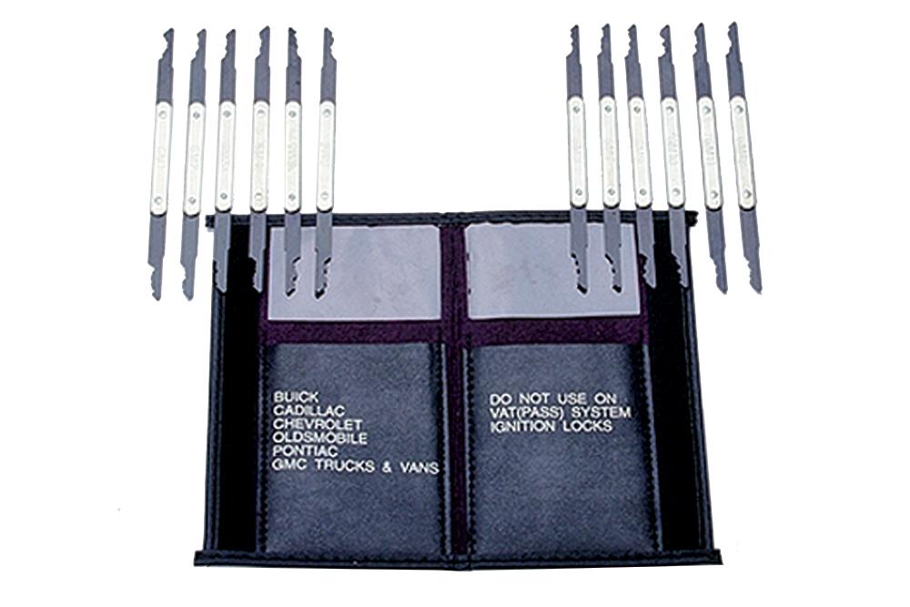 LOCK TECHNOLOGY GM Rocker 12-Piece Lock Pick Set