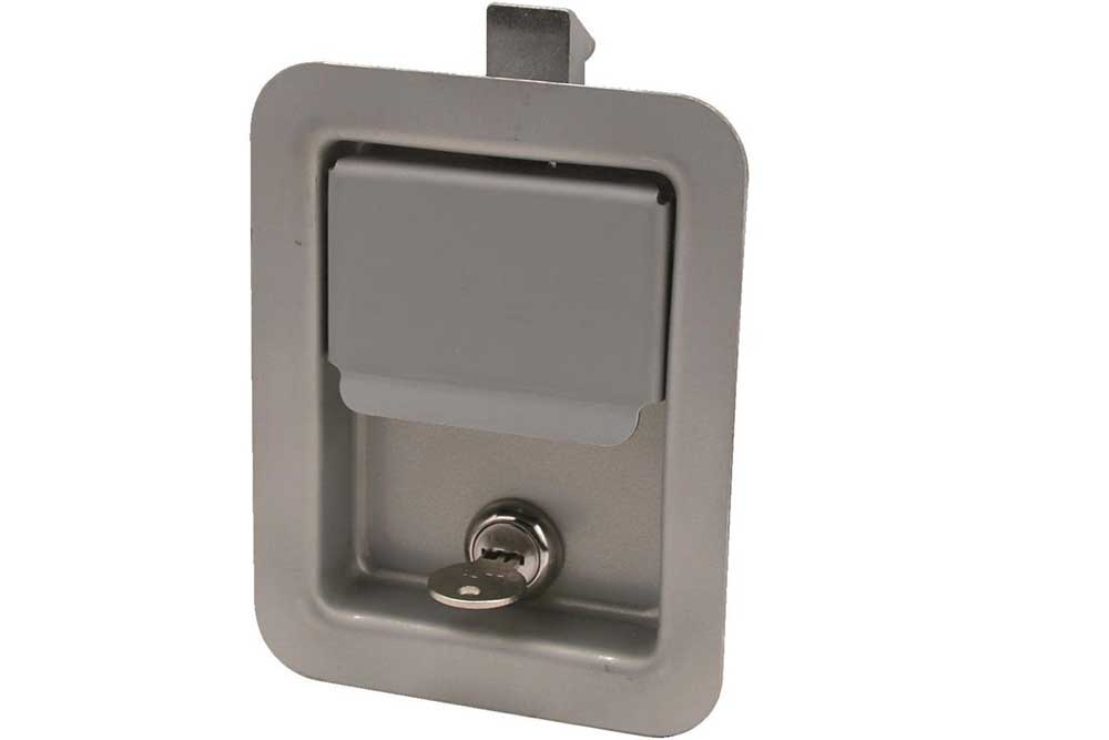 Paddle Latch, Standard With Lock