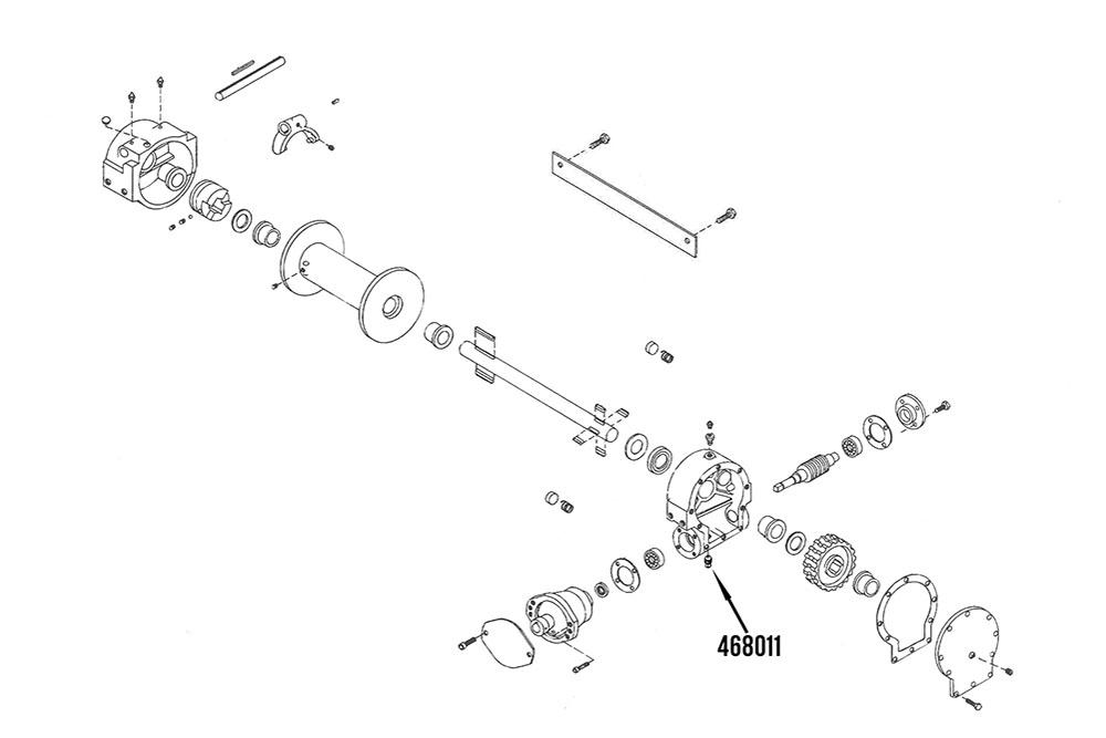 ramsey winch parts diagram ramsey winch schematics