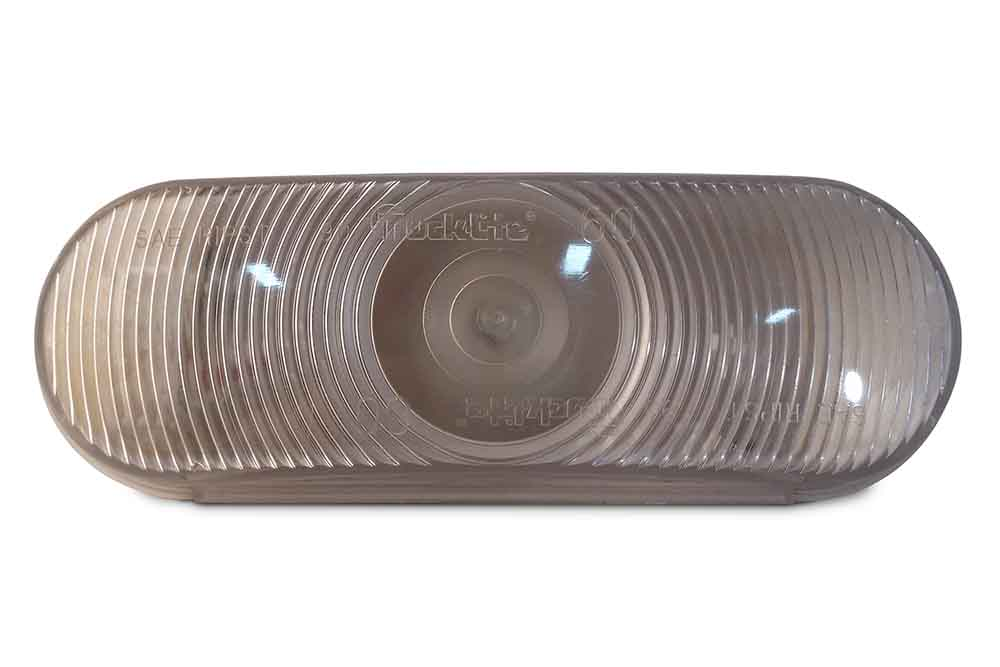 "Midwest Wheel 6"" Oval Clear Backup Light"