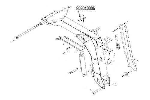 Miller Cable Guide Century Modular 300 Series & Vulcan 806 / 807