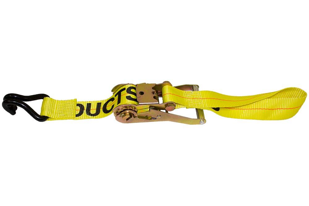 B/A Steering Wheel Lock w/ Ratchet, Double J Hooks & Lasso