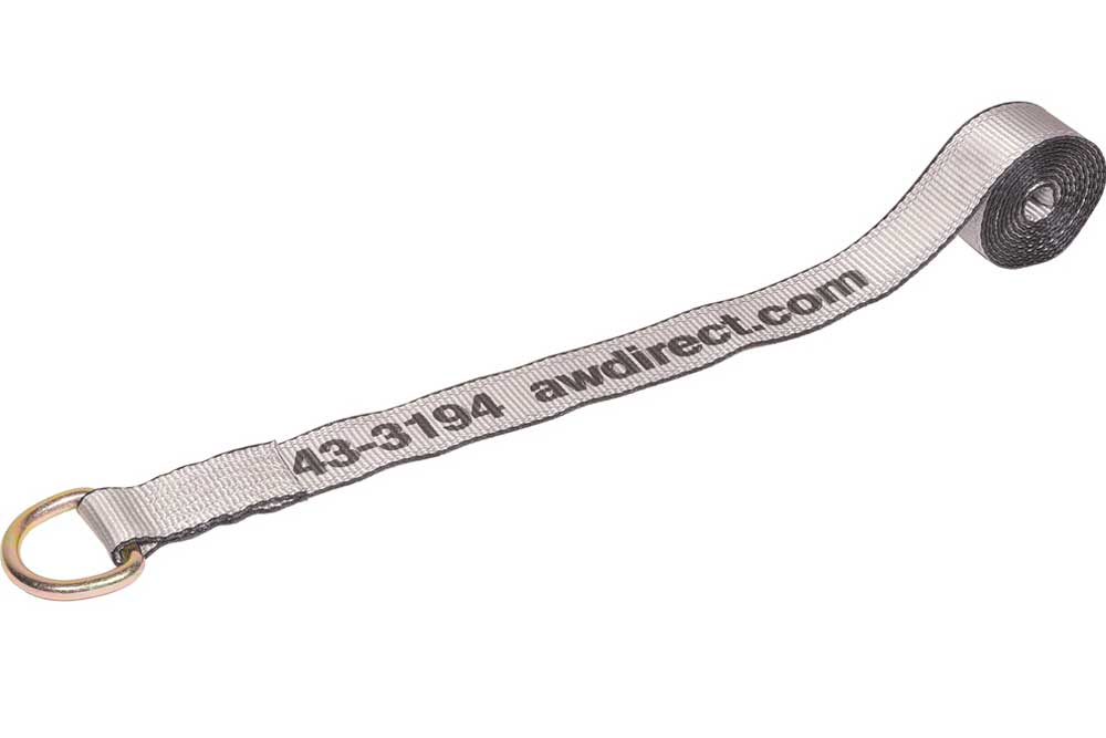 "AW DIRECT Lasso Wheel Lift Strap, 2""W x 12'L"