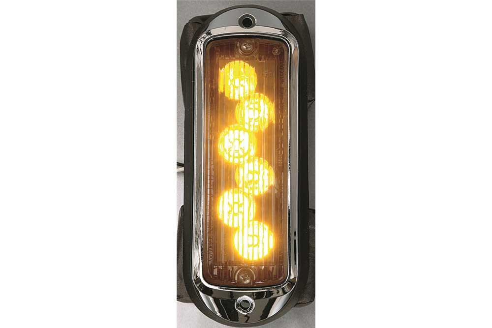 whelen tir6 super led flashing warning lights vertical mount amber rh zips com
