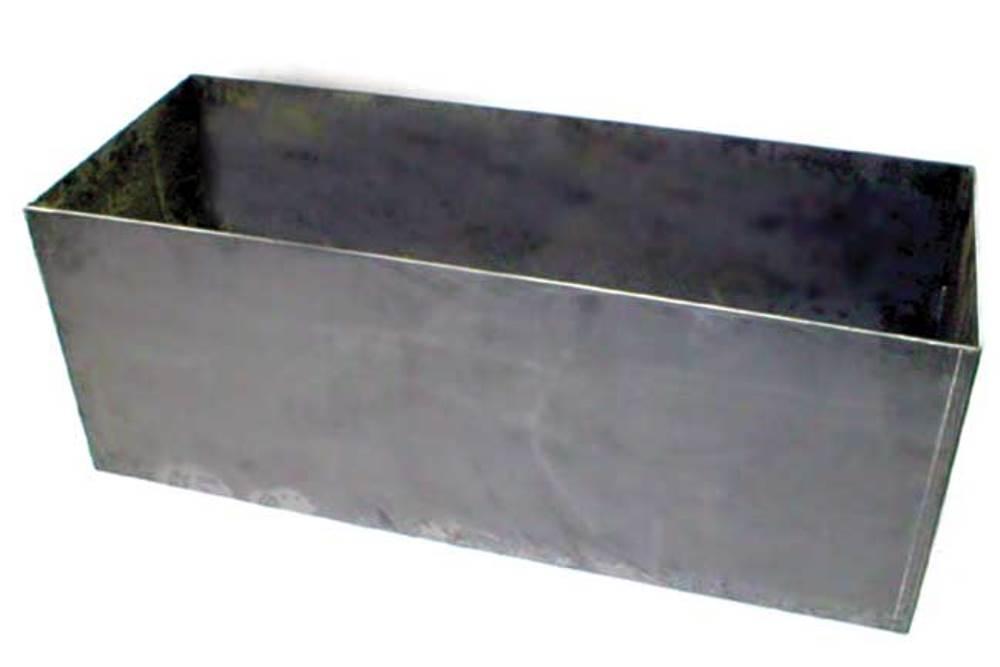 zip s custom aluminum open top storage box w mesh bottom