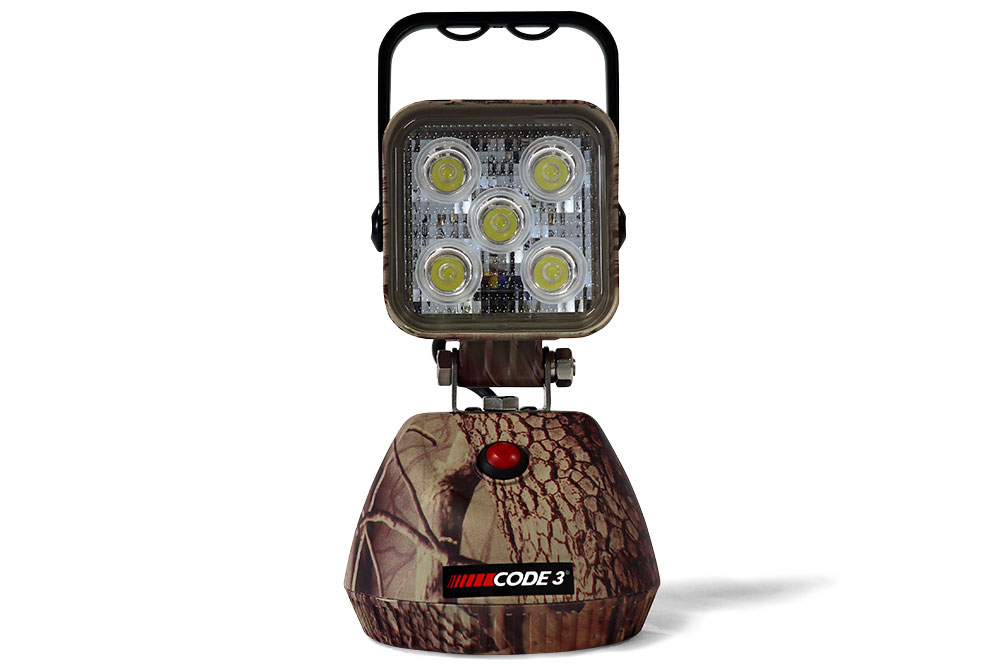 Code 3 Camo Work Light