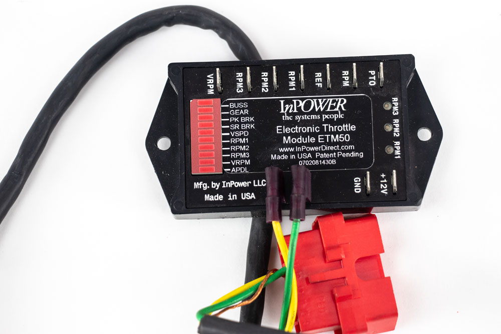 InPower Ford Electronic Throttle, Fast Idle Speed Control