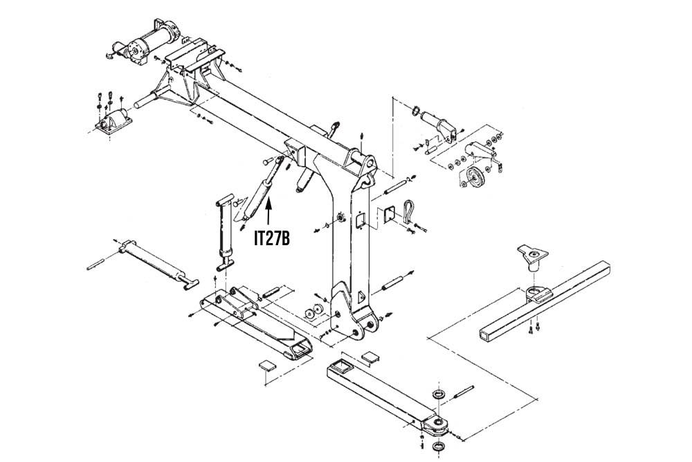 Hydraulic Cylinders- Wheel Lift