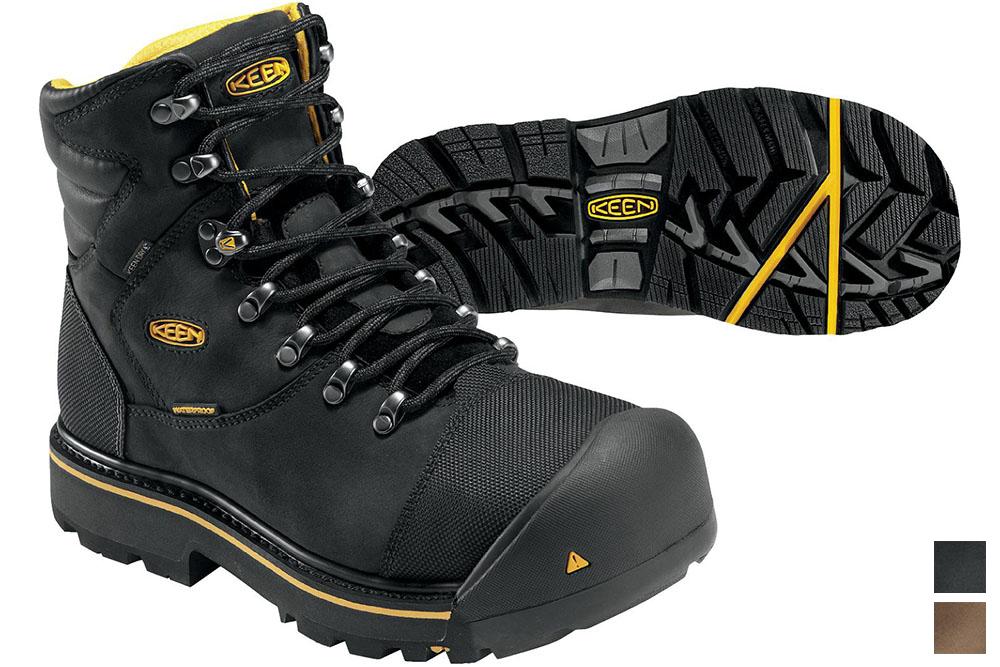 748efdc252e KEEN Utility Men's Milwaukee Waterproof Steel Toe Boots